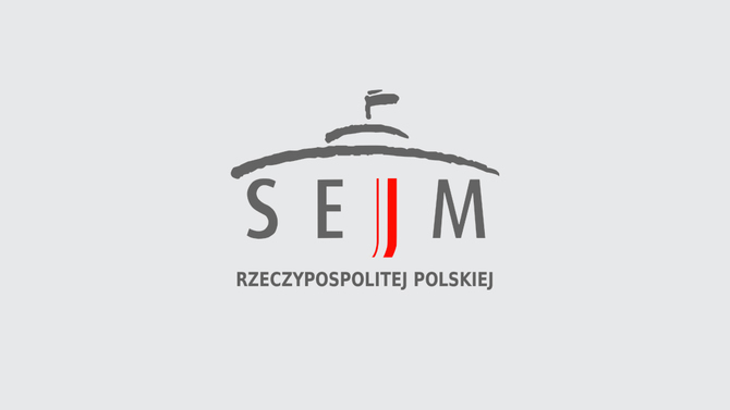 Display logo sejm