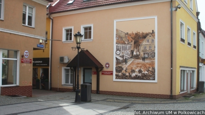 Display polkowice mural