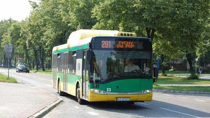 Display tychy bus