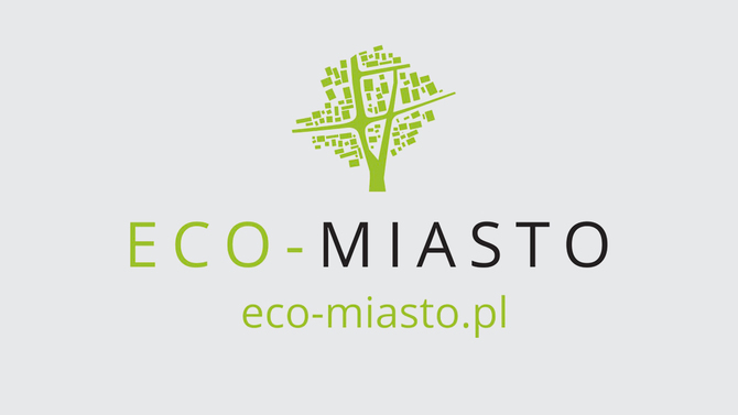 Display eco miasto logo
