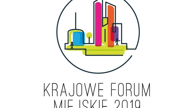 Display logo krajowe forum miejskie